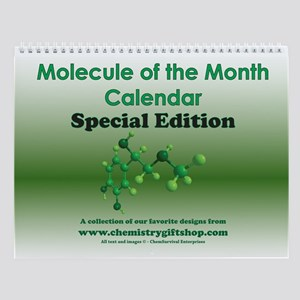 Molecule of the Month SE Wall Calendar